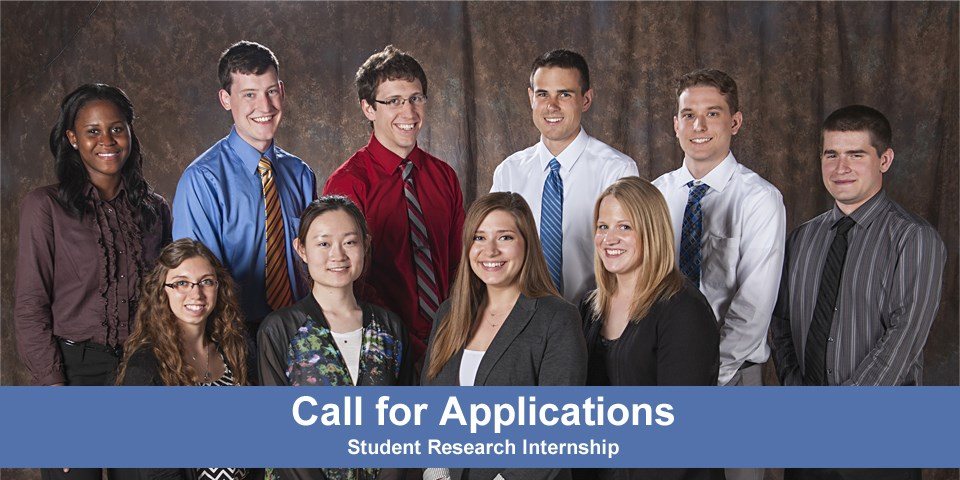 Call for Applications Student Summer Intern Program