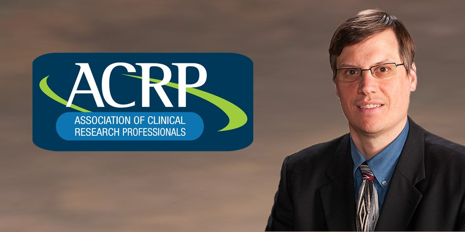 Dr. Steve Ziemba appointed to serve as Vice Chair of the 2016 Association Board of Trustees for the ACRP